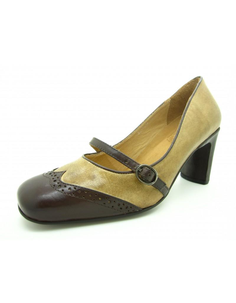 8063bcc019b twelve15twenty VINTAGE Calf Leather Heels women shoes
